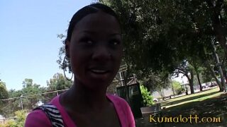 Kumalott – Short Hair Black Girl Banged in POV